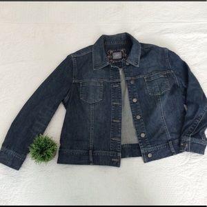 J Jill Denim Jacket Size Large